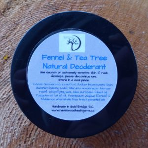 Ravenwood Wildcraft  Fennel Tea Tree Deodorant